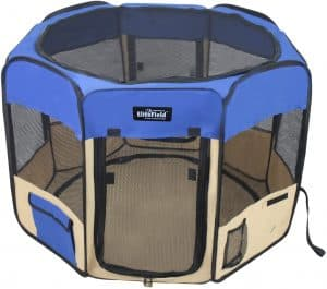 indoor portable dog fence